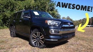 The Toyota 4Runner Is An Old School Awesome Family SUV!!