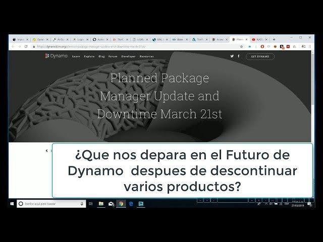 Dynamo Core Runtime Lo nuevo de Dynamo y el futuro para el 2020 de Dynamo