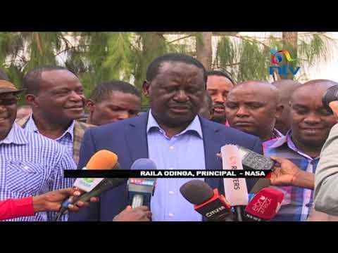 Raila Odinga expresses confidence in swearing in team