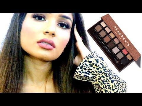 Warm Toned Makeup | ABH Sultry Palette Glam | Princess thumbnail
