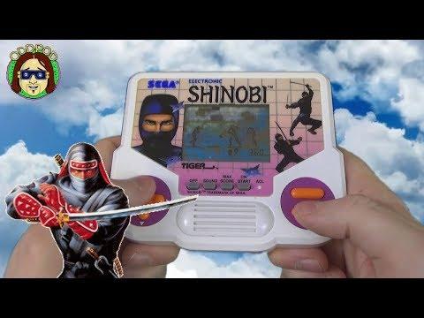 Shinobi Tiger Electronics Handheld - Retro 90s Game | Odd Pod