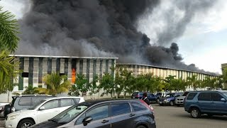 JAMAICA NOW: Massive Wisynco fire... Five killed in road crash ... NHT goodies ... $ slide