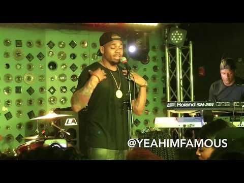 "Mack Wilds "" After Hours "" Live in Concert at Baby's All Right  in NYC 2017"