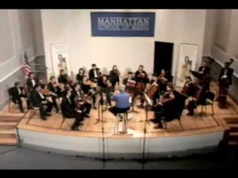 November 15, 2003, Manhattan School of Music, New York