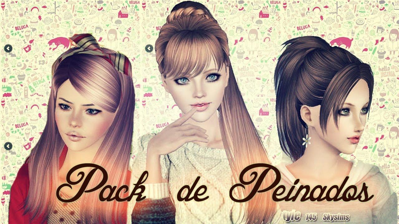 Сharming peinados sims 3 Galeria De Cortes De Pelo Tendencias - Descarga Pack de Peinados  Sims 3 - YouTube