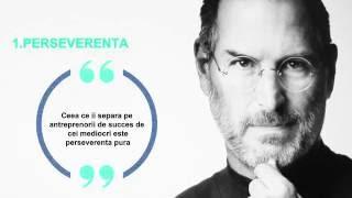 Steve Jobs - 4 Idei pentru a atinge succesul