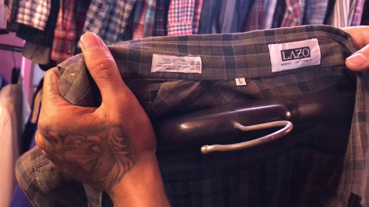 Giới thiệu Áo Flannel vintage kẻ , áo sơ mi kaki vintage , áo kẻ tăm nhung cho anh chị em tham khảo