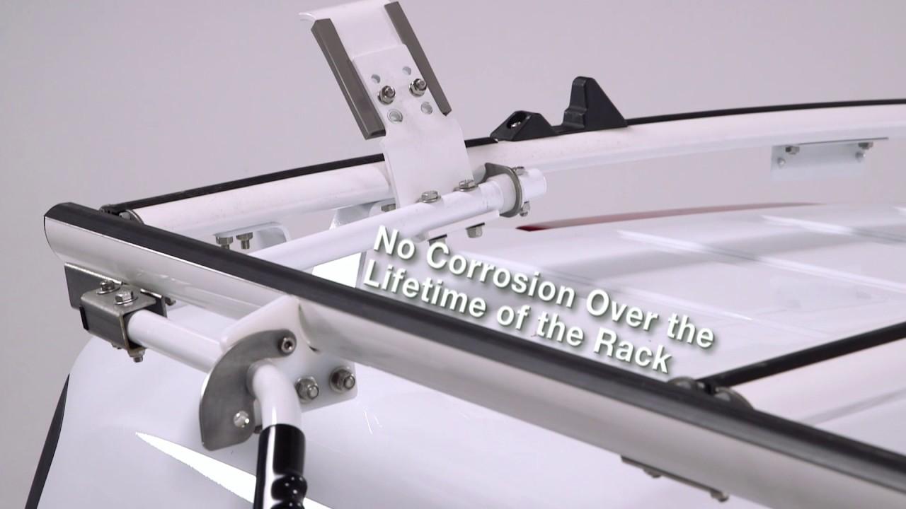 ladder racks for vans by ranger design