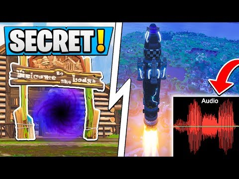 *SECRET* Fortnite Rocket Message SOLVED! | Multi Dimensions, Time Machine!
