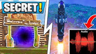 *SECRET* Fortnite Rocket Message SOLVED! | Multi Dimensions, Time Machine!