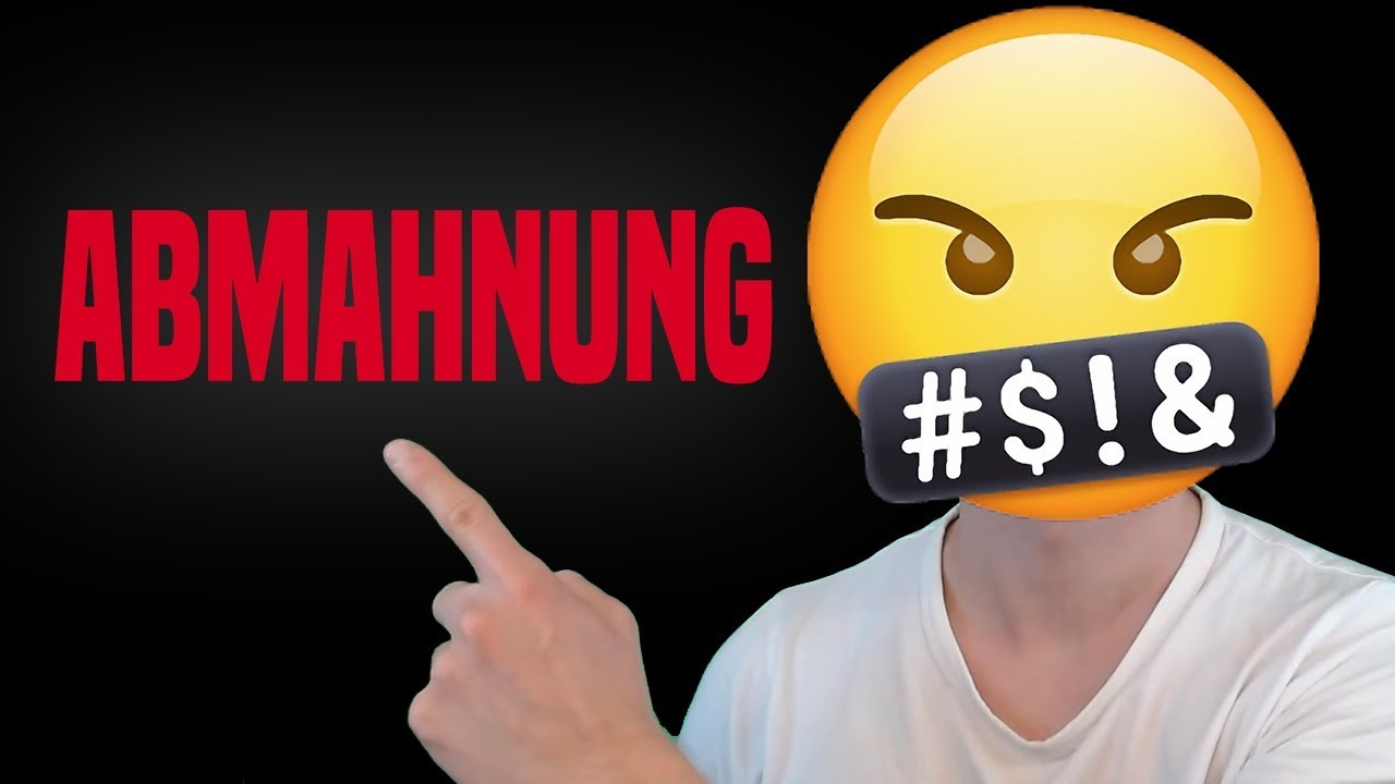 Abmahnung Youtube