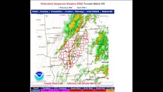 Tornado Emergency for Benton County, TN