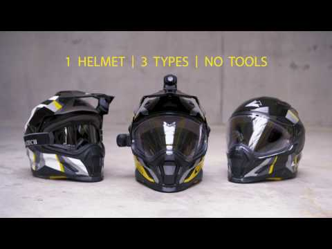 AVENTURO CARBON – The ultimate helmet for Offroad & Onroad & Travel