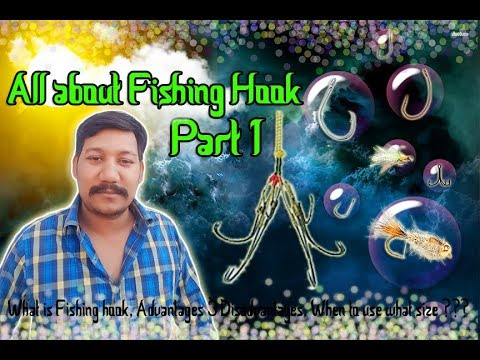 How To Choose Best Fishing Hook Part 1 (Hindi Dubbing)
