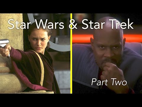 A Comparison: Star Wars & Star Trek (pt. 2)