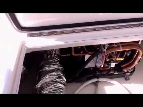 Cruisair air conditioning installation - YouTube on