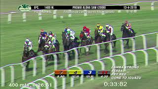 Vidéo de la course PMU PREMIO ALOHA SAM 2008