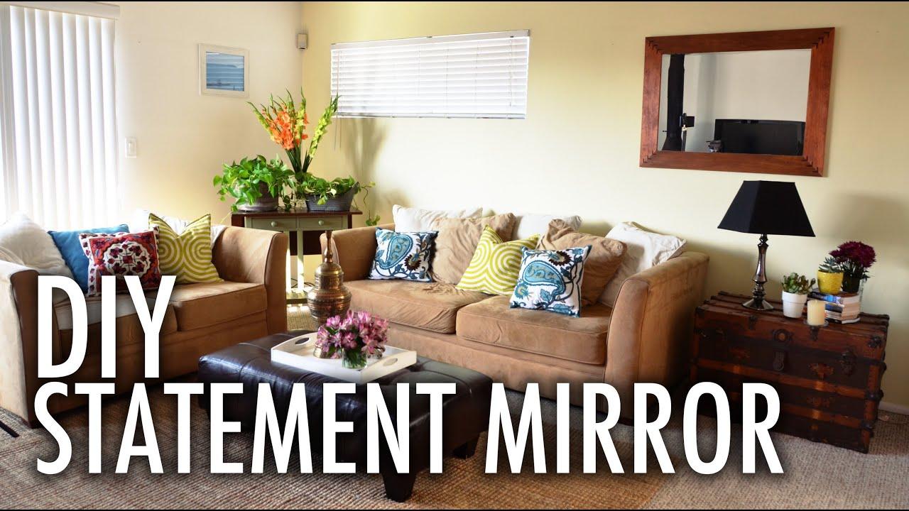 DIY Statement Mirror with Mr Kate