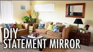 Diy Statement Mirror With Mr. Kate