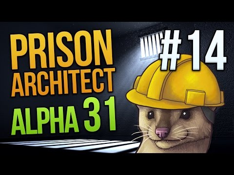 YARD TIME - Prison Architect Alpha 31 - Part 14 ★ Let's Play Prison Architect