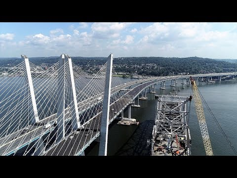 Day Before Eastbound M. Cuomo  (New Tappan Zee) Bridge Opening, 9/7/18. Update 7