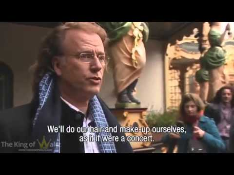 André Rieu The Making Of Fairy Tale Part 1#