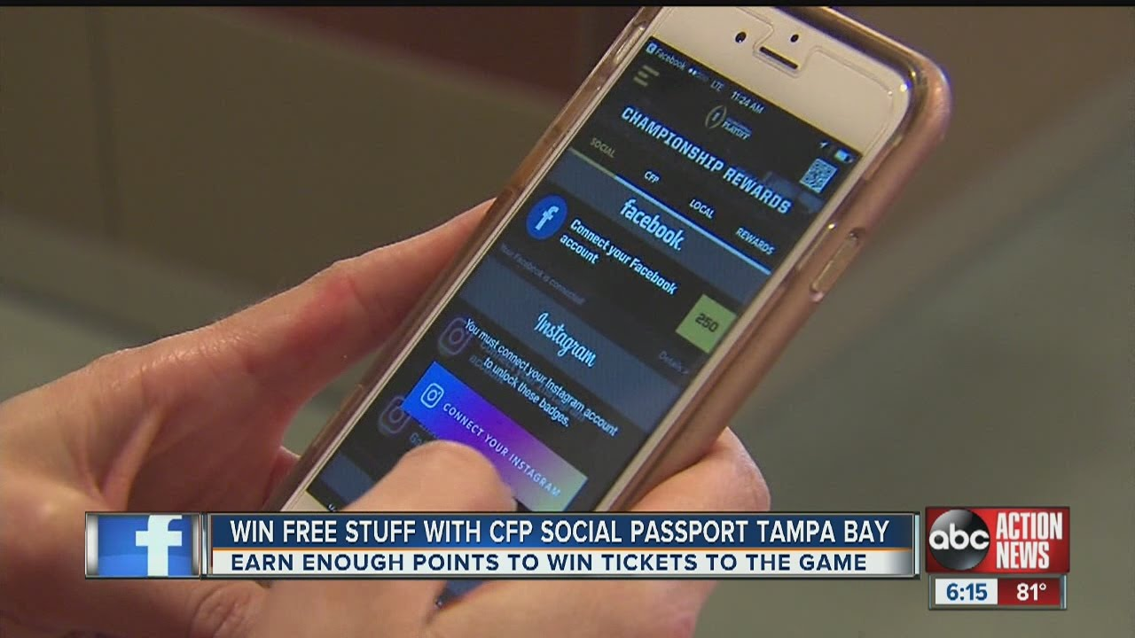 Win Free Stuff With Cfp Social Passport Tampa Bay Youtube