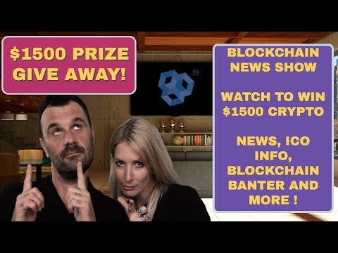 Blockchain News. $1500 Token Giveaway. Cryptocurrency, ICO Alert , Crypto Police, EOS and  Bitcoin