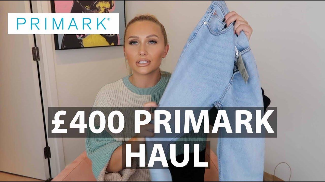 ba54b6e4989 400 ON PRIMARK... WAS IT WORTH IT?! TRY ON HAUL - YouTube