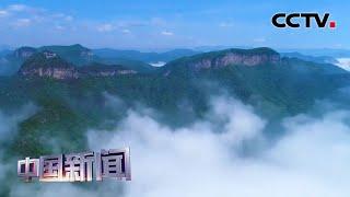 [中国新闻] 河南焦作:雨后初晴 壮美云海惊艳游客 | CCTV中文国际