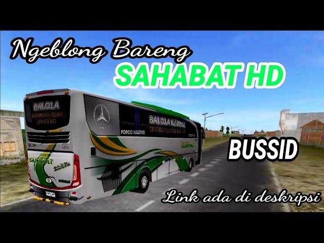 SAHABAT bus super cepat livery bus simulator indonesia BUSSID