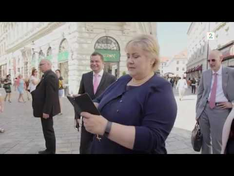 Prime Minister of Norway catch Pokemon in the street