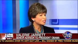 Bill O'Reilly Goes Off on Gangster Culture - Valerie Jarrett interview