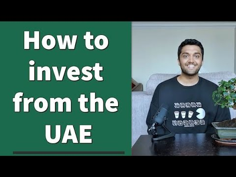 How to invest in the US stock market from the UAE.