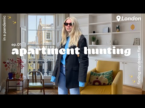 Apartment hunting in London 🇬🇧 in a pandemic + tips! 💸   Maddie's moving!