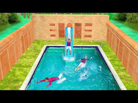 भूमिगत स्विमिंग पूल Underground Swimming Pool Comedy Video हिंदी कहानिया Hindi Kahaniya Hindi Video