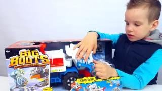 Matchbox Большая Машинка. ЛОВИМ СНЕЖНОГО ЧЕЛОВЕКА. Играем и делаем снег с Ник Турбо Toy