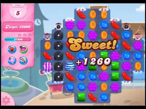 Candy Crush Saga Level 2962 - NO BOOSTERS