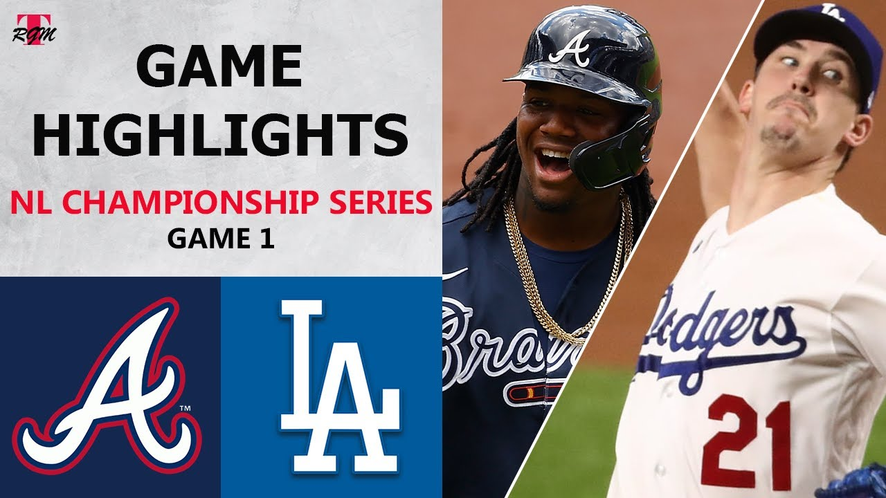 Dodgers vs. Braves score: Live NLCS Game 1 updates, channel as ...