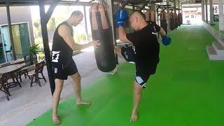 Chokchaimuaythai и тренировка с американцем Уиллом