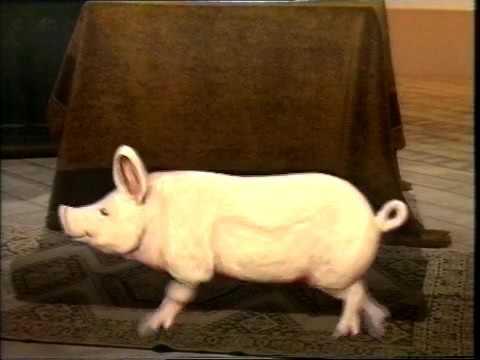 Chockablock: Fred Harris & the dancing pig
