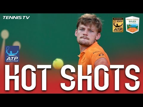 Hot Shot: Goffin Blasts Forehand At Monte-Carlo 2017