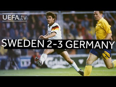GERMANY edge past SWEDEN to reach EURO 1992 final