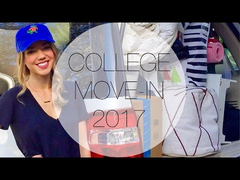 COLLEGE MOVE-IN DAY 2017 || UNIVERSITY OF FLORIDA