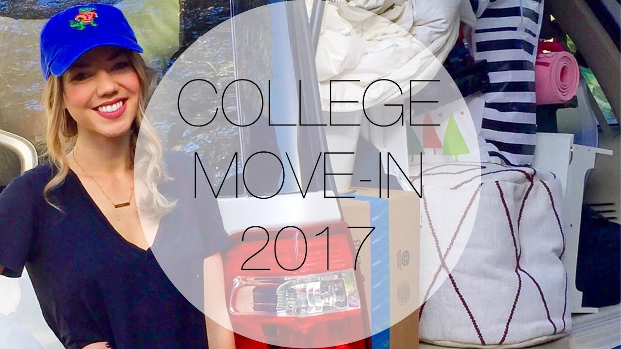 College Move In Day 2017 University Of Florida Youtube