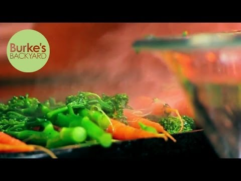 Burke's Backyard, Grilled Mini Vegies