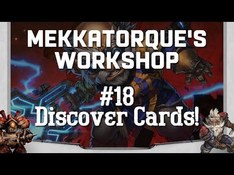 🔧 MEKKATORQUE'S WORKSHOP 🔧 — Discover-Related Cards!
