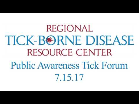 Regional Tick-Borne Disease Resource Center Annual Public Education Event - 7/15/17