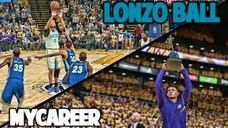 LONZO WINS MVP - NBA 2K17 LONZO BALL MyCareer