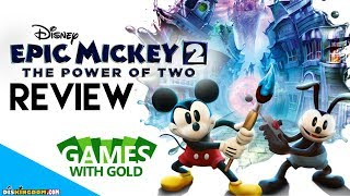 Epic Mickey 2 Review   Xbox Games With Gold August 2018